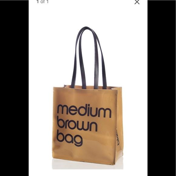Bloomingdale s Bags   Bloomingdales Medium Brown Bag Tote   Poshmark 0ee33d9dd4